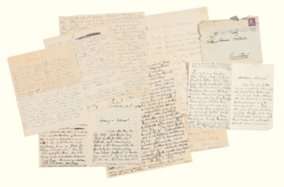 Garbo letter auction